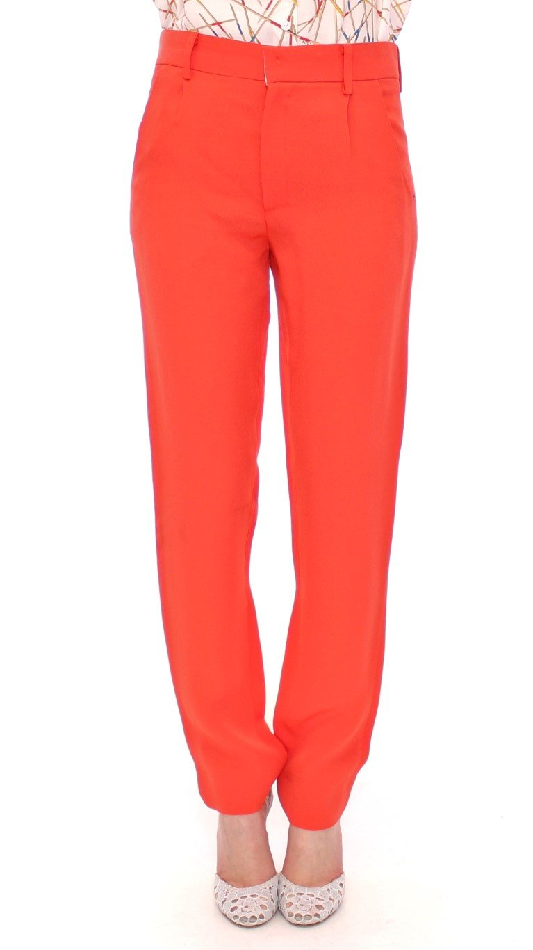 CO TE Women's Boyfriend Stretch Trouser Orange MOM10851 - IT40 S