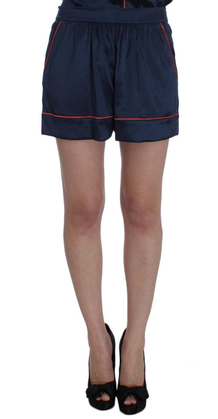 Dolce & Gabbana Women's Silk Stretch Sleepwear Shorts Multicolor SIG30713 - IT1 | XS