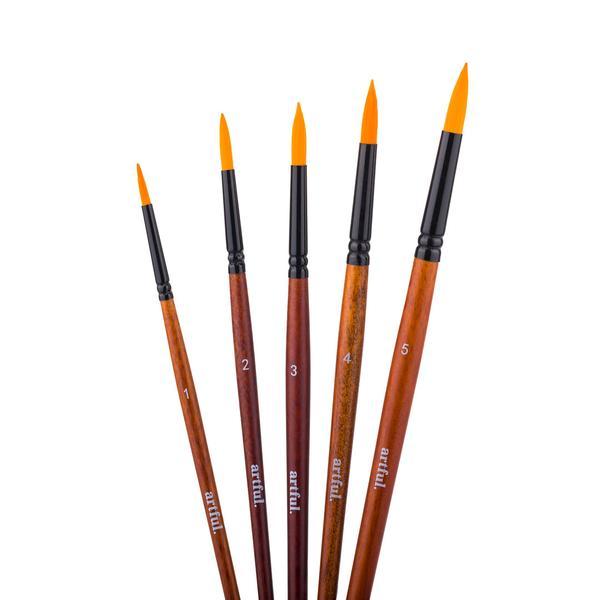Artful Paint Brushes - Round