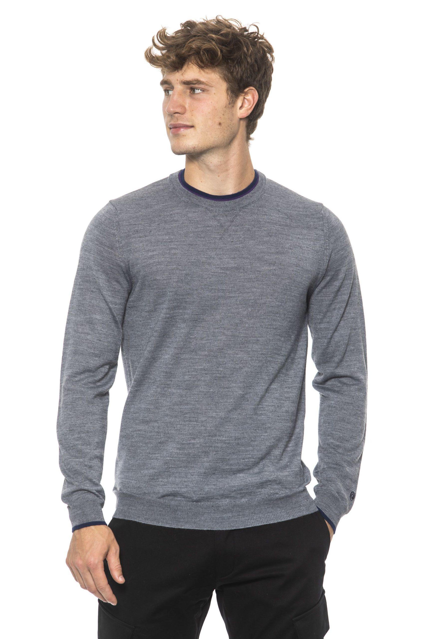 +39 MASQ Men's Sweater Gray 31272605 - S