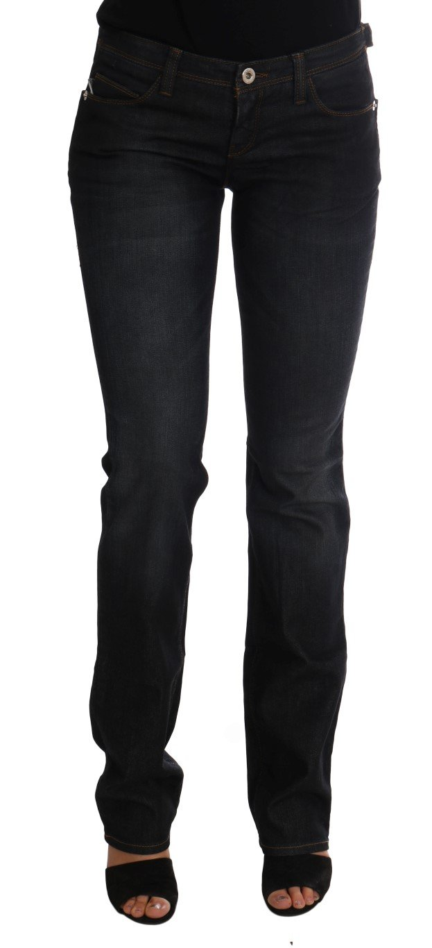 Costume National Women's Cotton Slim Fit Jeans Blue SIG30137 - W26