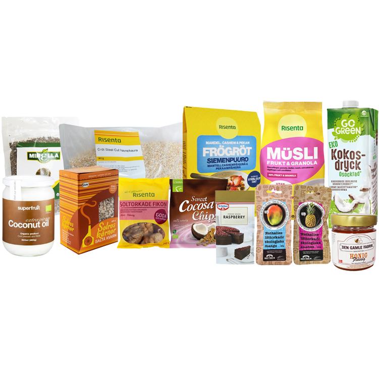 Baka sockerfritt-boxen - 50% rabatt