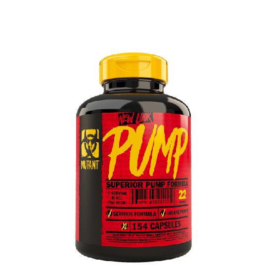 Mutant Pump, 154 caps