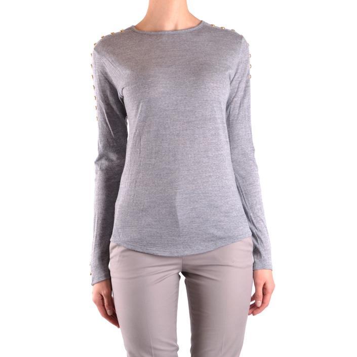 Balmain Women's T-Shirt Grey 172926 - grey 38