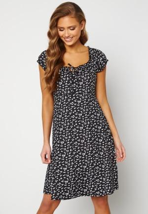 Happy Holly Tessan dress Beige / Black 48/50