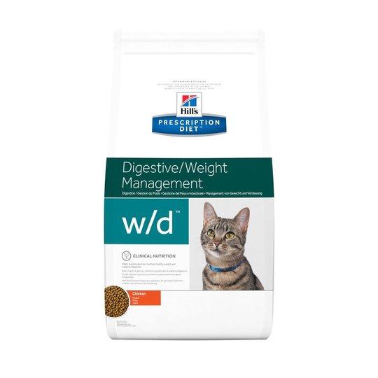 Hill's Prescription Diet Feline w/d Digestive/Weight Management Chicken (1,5 kg)