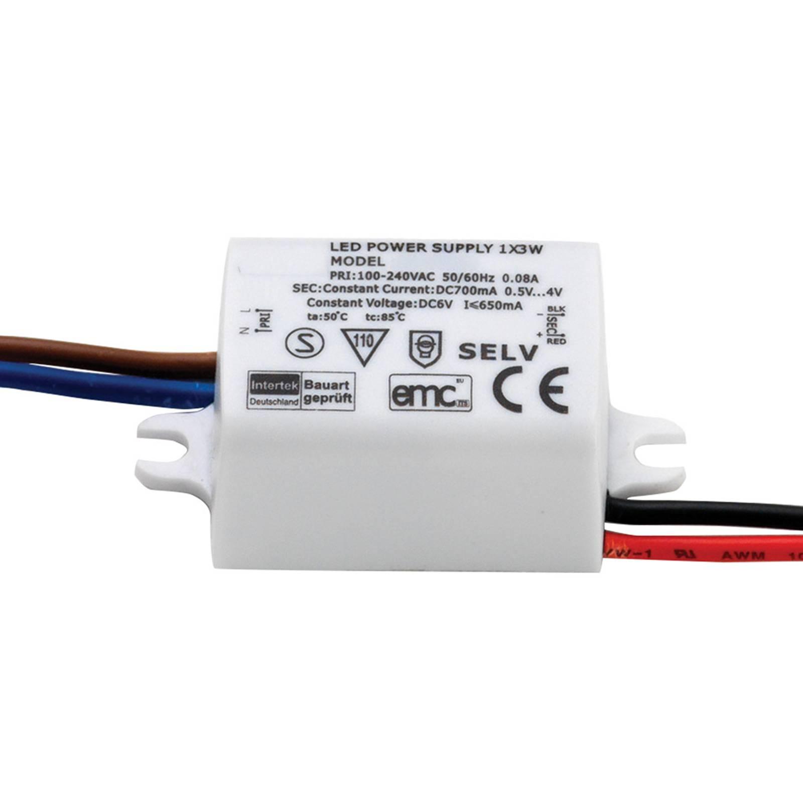 Astro-LED-muuntaja 2–4,55 W 700 mA