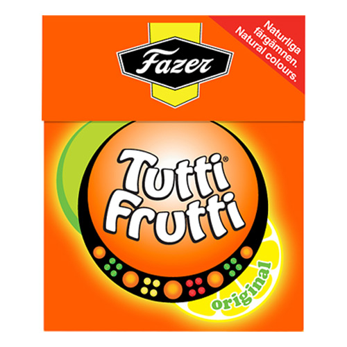 Tutti Frutti Tablettask - 1-pack