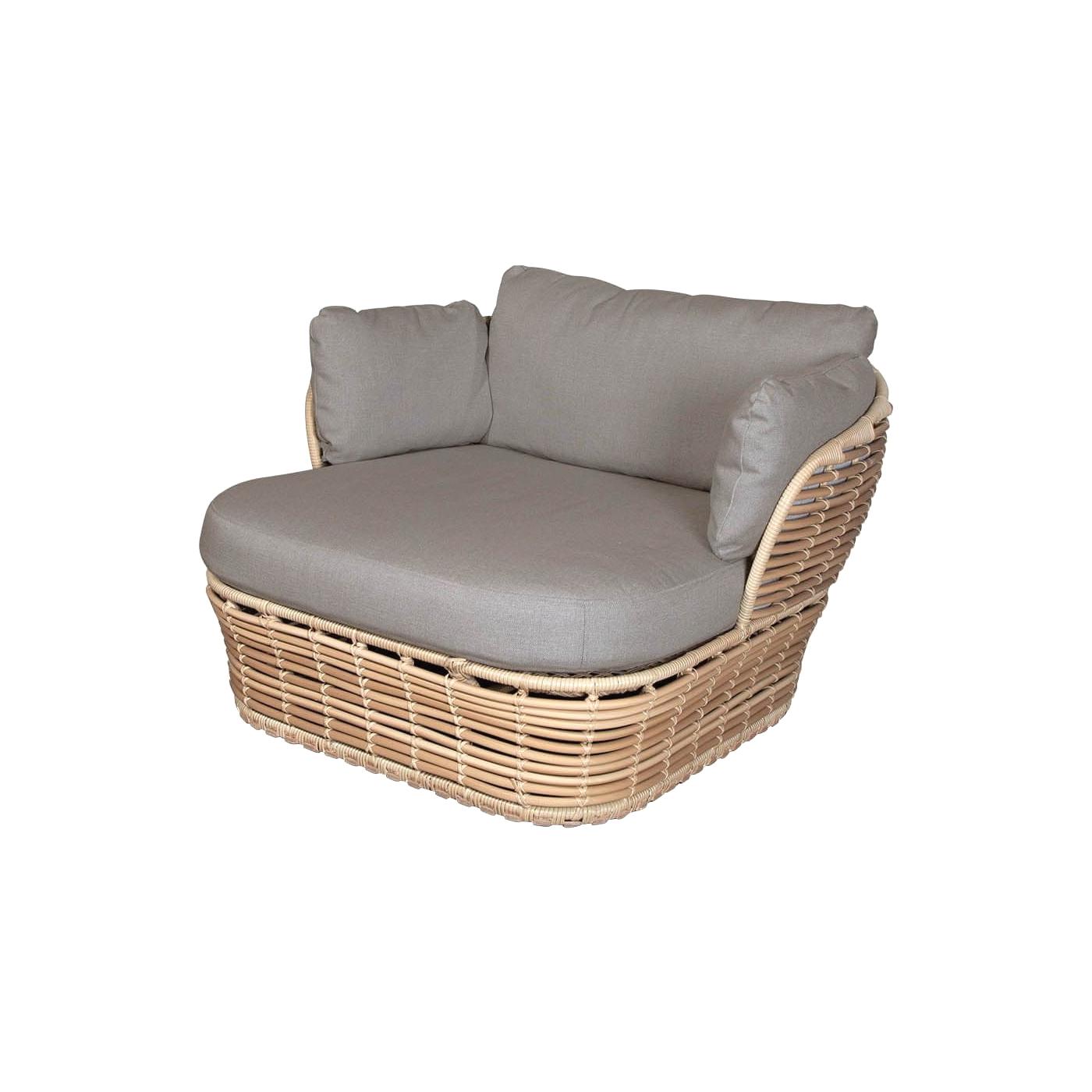 Basket Lounge fåtölj AirTouch dynset Cane-line