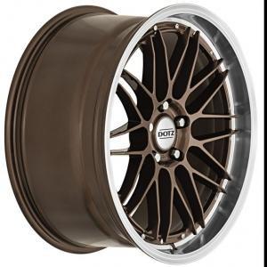 DOTZ Revvo Bronze Polished 9.5x19 5/112 ET35 B70.1