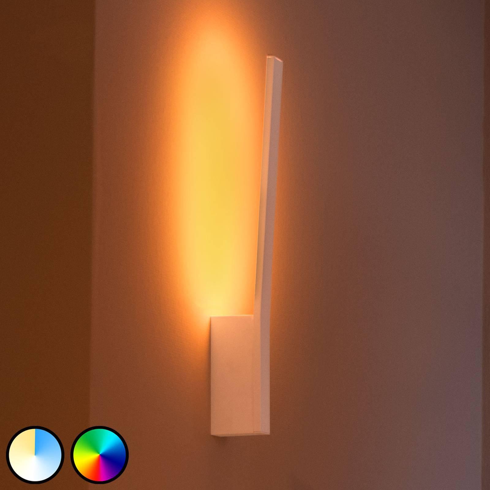 Philips Hue Liane LED-vegglampe, RGBW, hvit