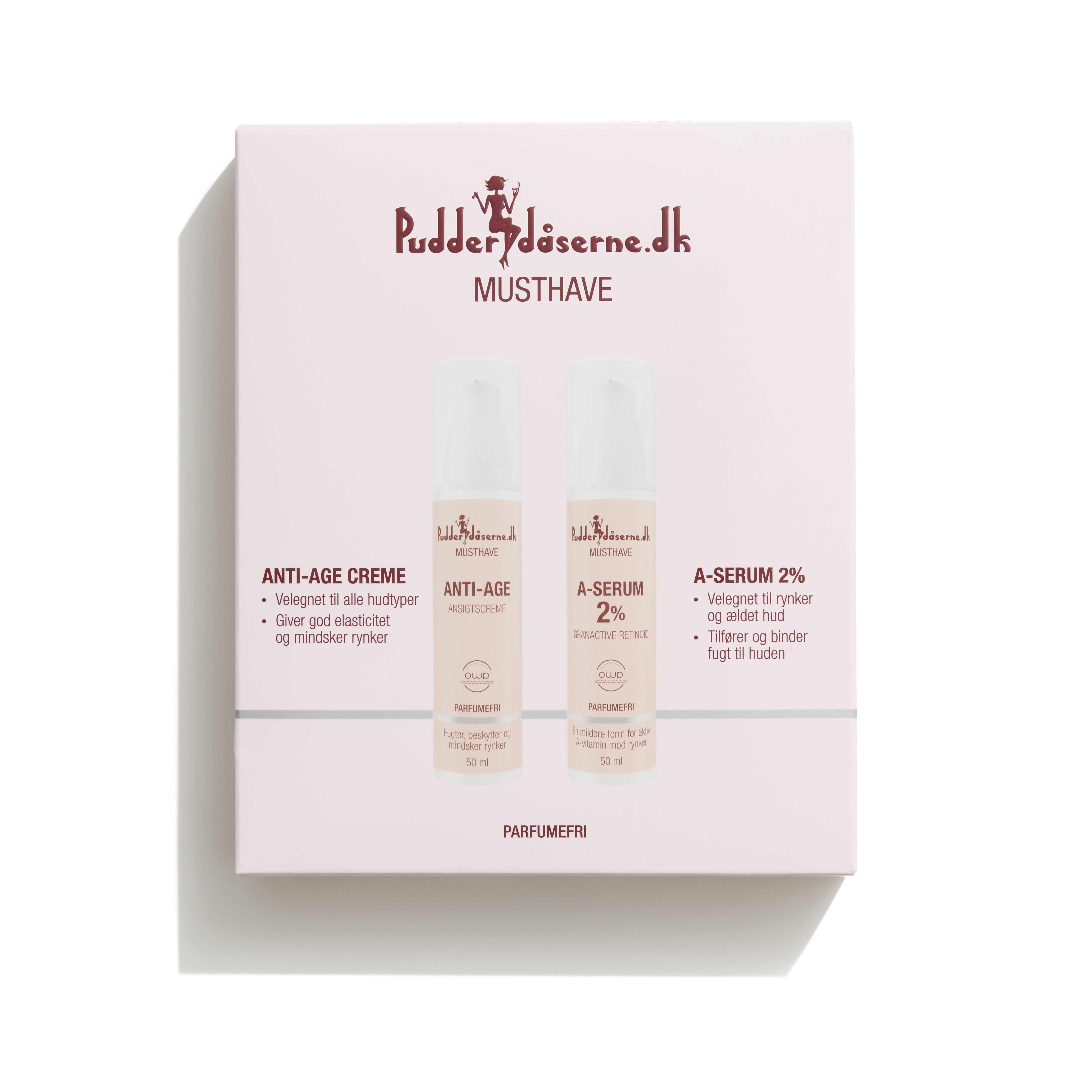 Pudderdåserne - MUST HAVE To Wrinkles, Pigment Spots & Crow's Feet 