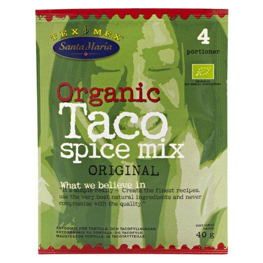 """Kryddmix """"Taco"""" 40g - 61% rabatt"""