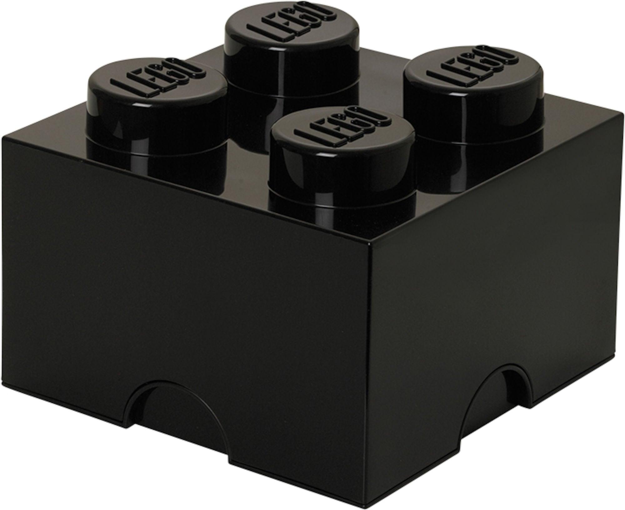 LEGO Säilytyslaatikko 4, Musta