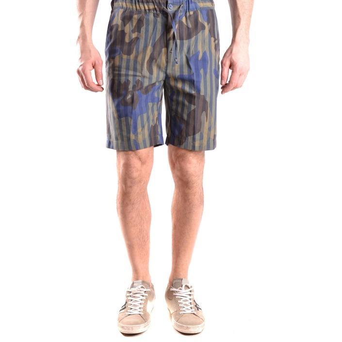 Daniele Alessandrini Men's Shorts Multicolor 163110 - multicolor 46