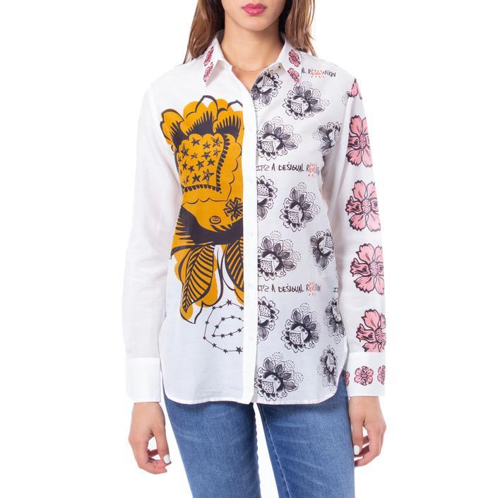 Desigual Women's Shirt White 167696 - white M