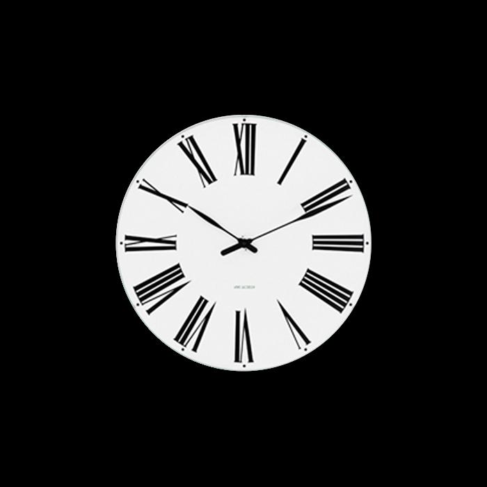 Arne Jacobsen - Roman Wall Clock Ø 21 cm (43632)