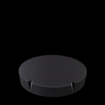 Lokk til Grand Cru oppbevaringsboks Ø 11 cm svart