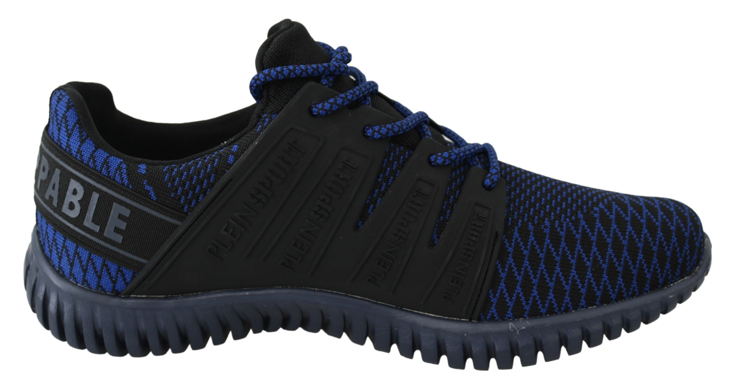 Blue Indaco Polyester Runner Mason Sneakers Shoes - EU40/US7