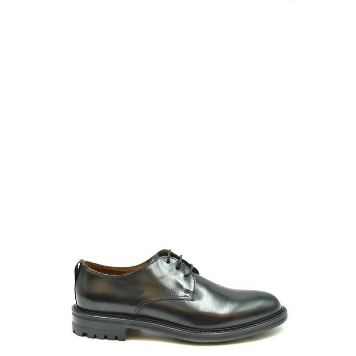 Doucal's Men's Slip On Shoes Black 205286 - black 40