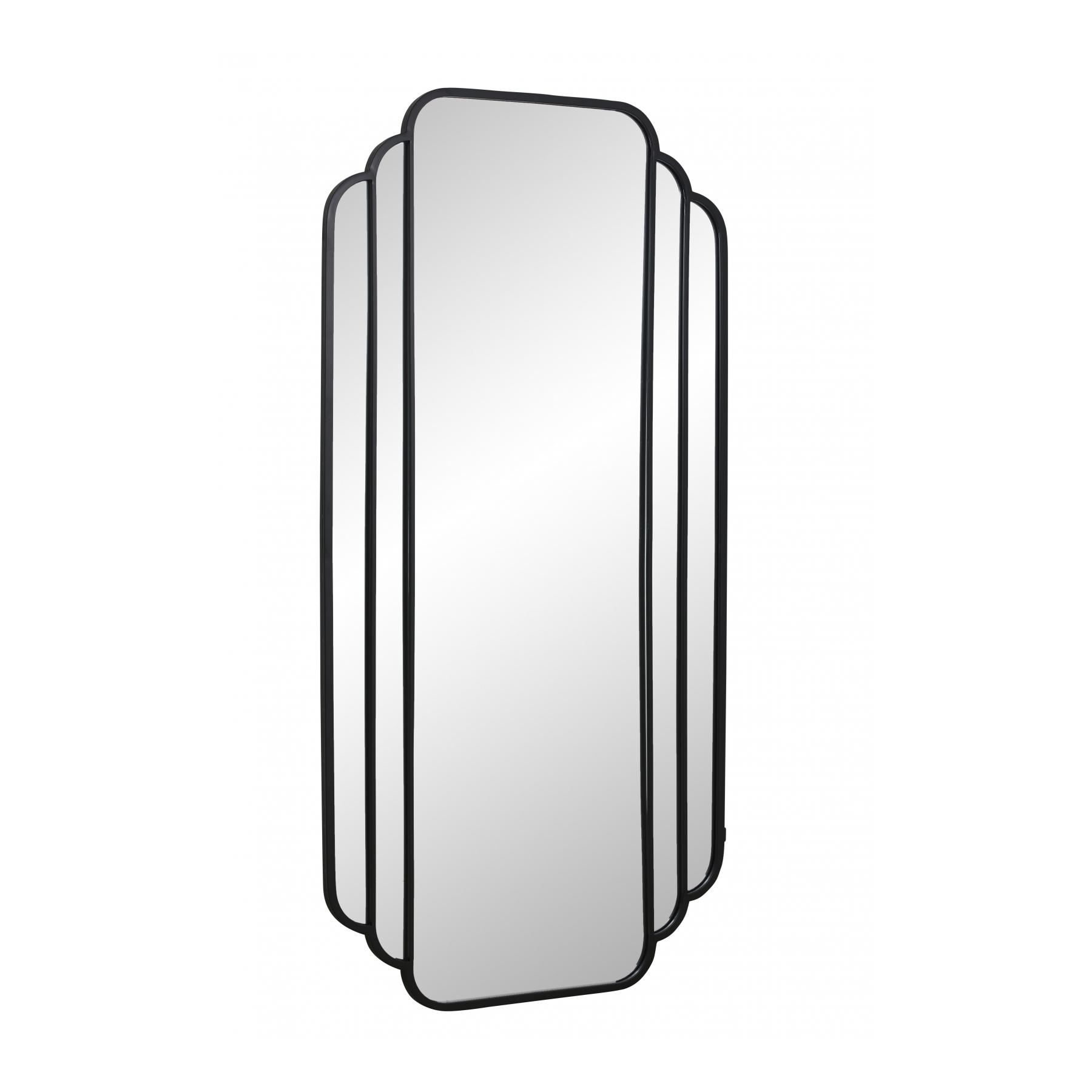 Spegel SKYLARK 204 cm svart ram Nordal