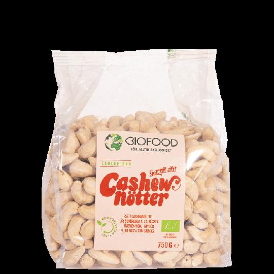 Cashewnötter hela, 750 g