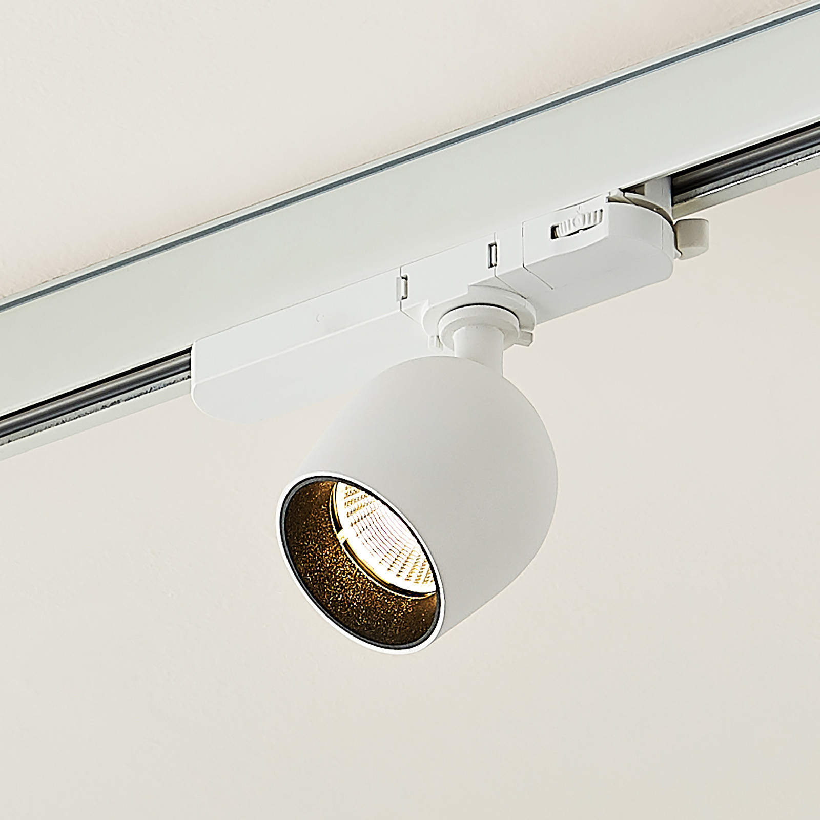 Arcchio Bartu -LED-kiskovalo, valkoinen 3 000 K