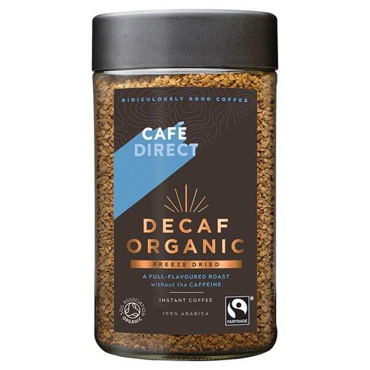 Cafédirect Decaf Organic Freeze Dried Instant Coffee, 100 g