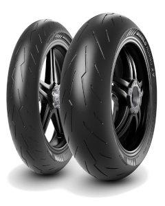 Pirelli Diablo Rosso IV ( 120/70 ZR17 TL (58W) M/C, etupyörä )