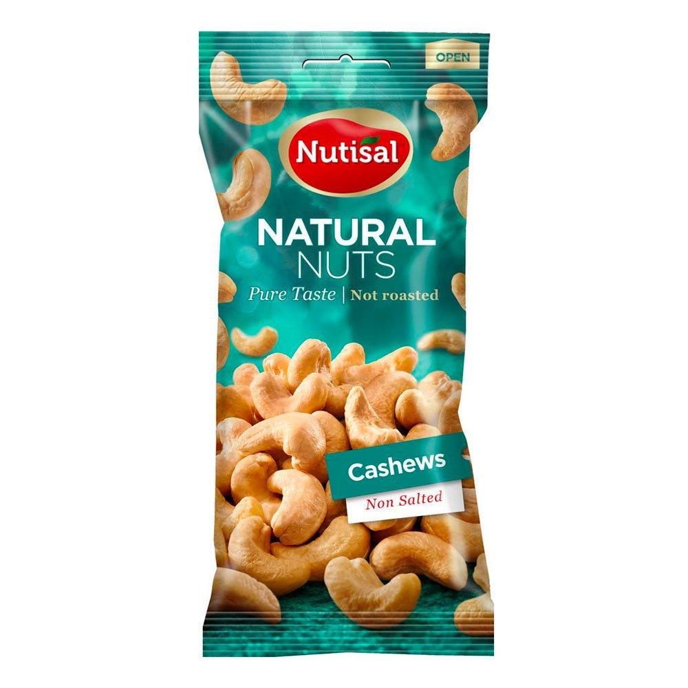 Nutisal Cashewnötter Naturell i Påse - 60 gram