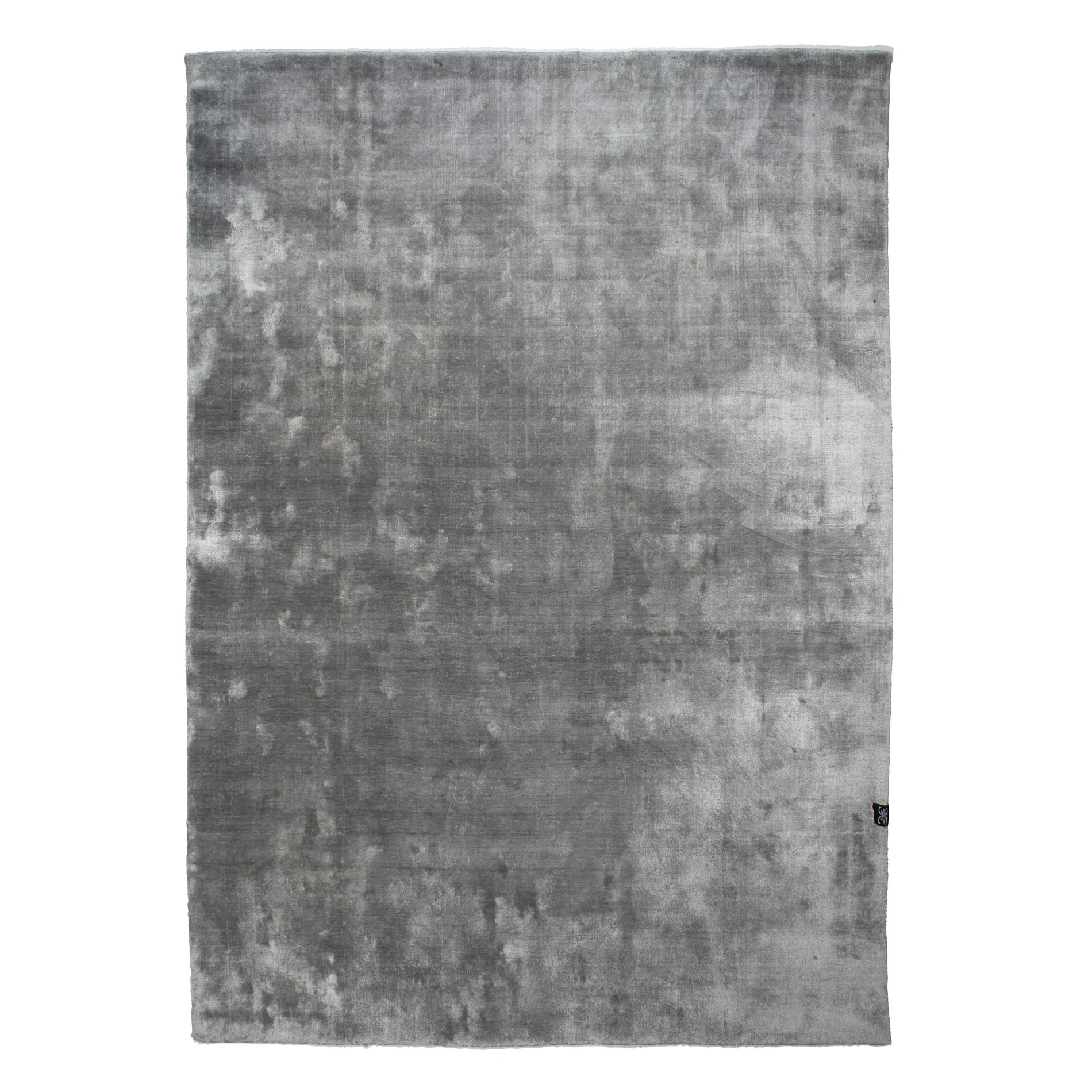 Viskosmatta VELVET TENCEL silver 250 x 350 cm, Classic Collection