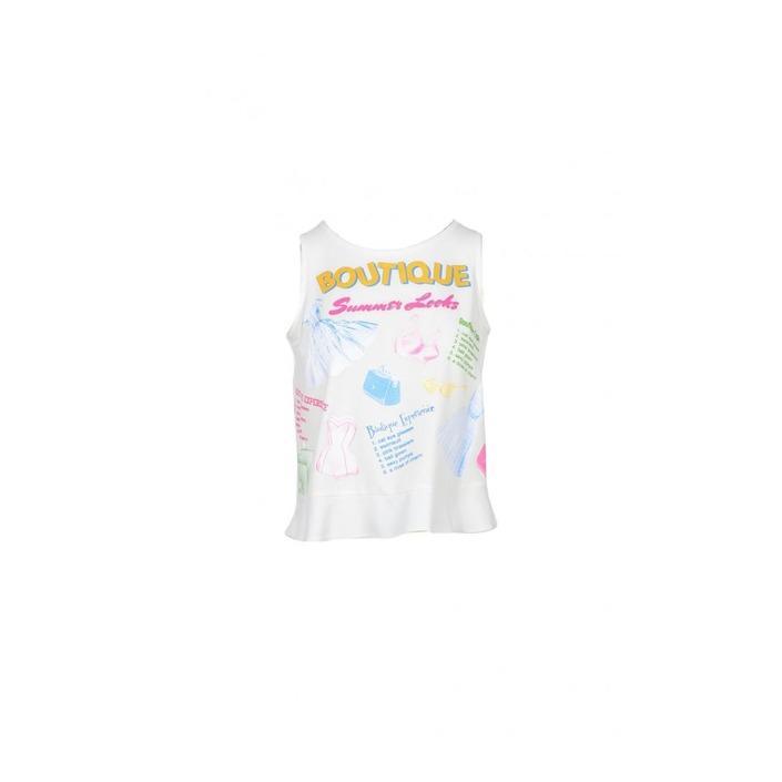 Boutique Moschino Women's Top White 172126 - white 38