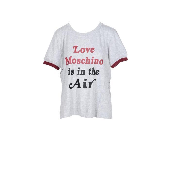 Love Moschino Women's T-Shirt Grey 191576 - grey 40