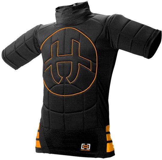 Unihoc OPTIMA Målvakt T-skjorte, Black 150/170
