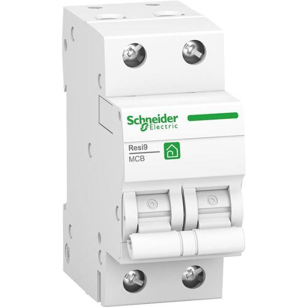 Schneider Electric Resi9 Miniatyrbryter 2-polet 10 A