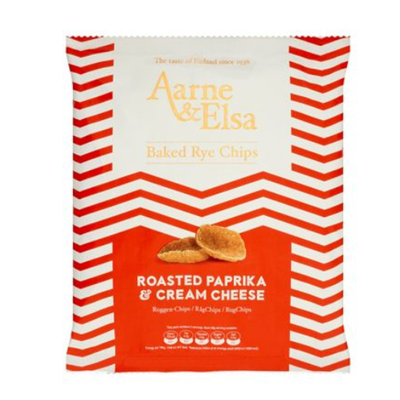 "Ruissipsit ""Roasted Paprika & Cream Cheese"" 150g - 50% alennus"