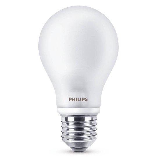 E27 A60 -LED-lamppu 7 W, 2 700 K, matta