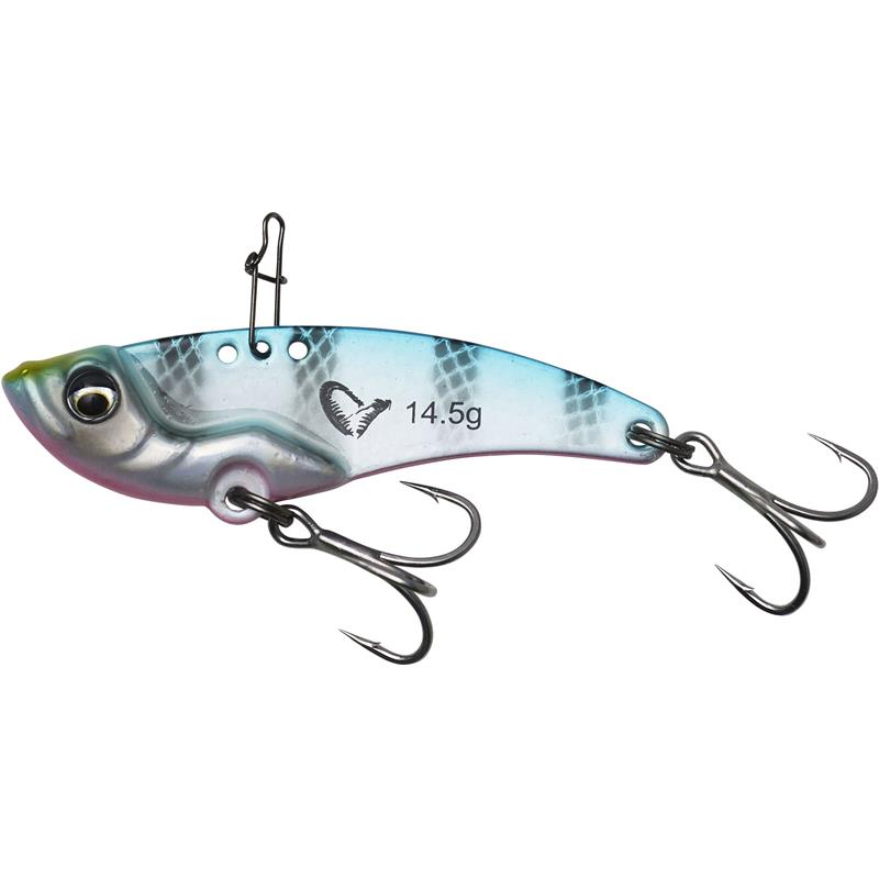 Savage Gear VIB Blade 14,5g Blue Pink Stripes - 5,5cm