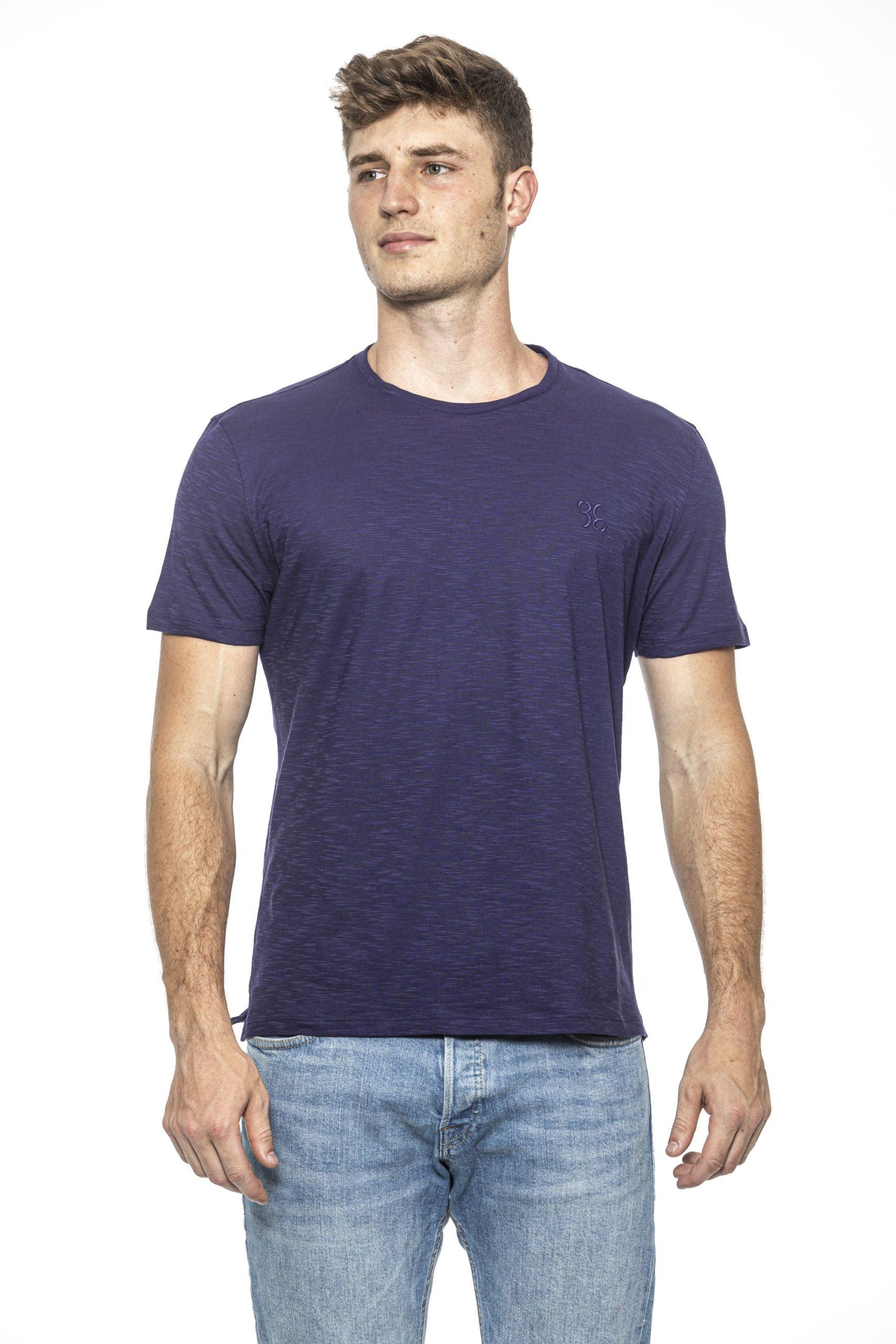 Billionaire Italian Couture Men's Viola T-Shirt Violet BI1397973 - M