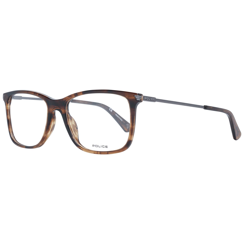 Police Men's Optical Frames Eyewear Brown PL563 5206HN