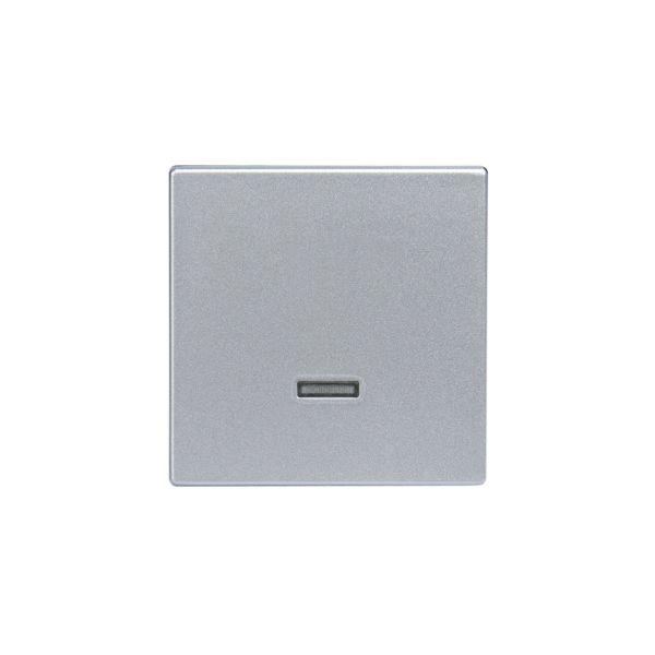 ABB Impressivo Midtplate for berøringsdimmer Aluminium
