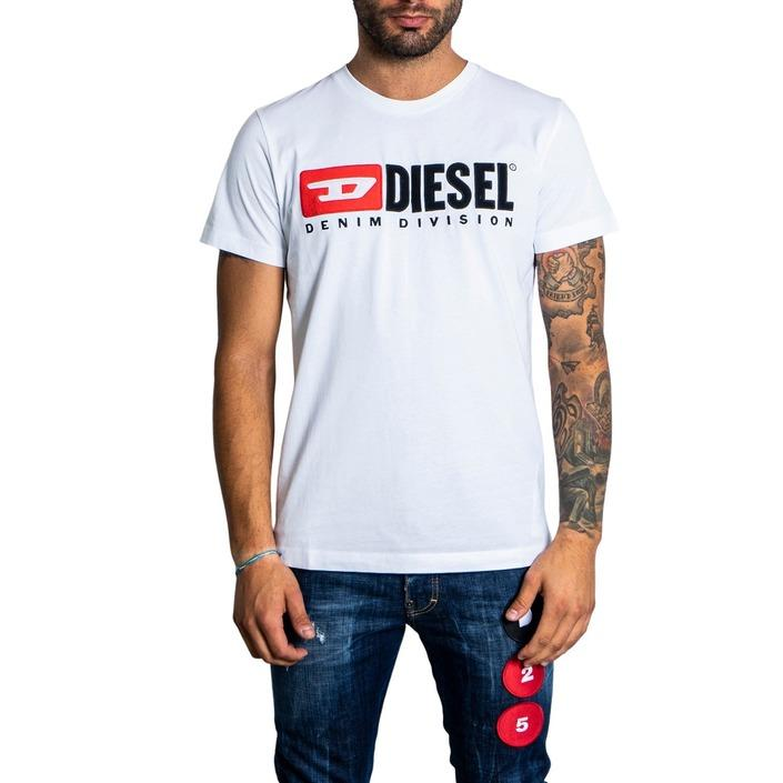 Diesel Men's T-Shirt White 320725 - white S