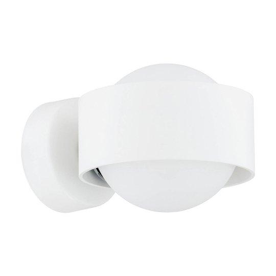LED-vegglampe til bad Macedo, hvit