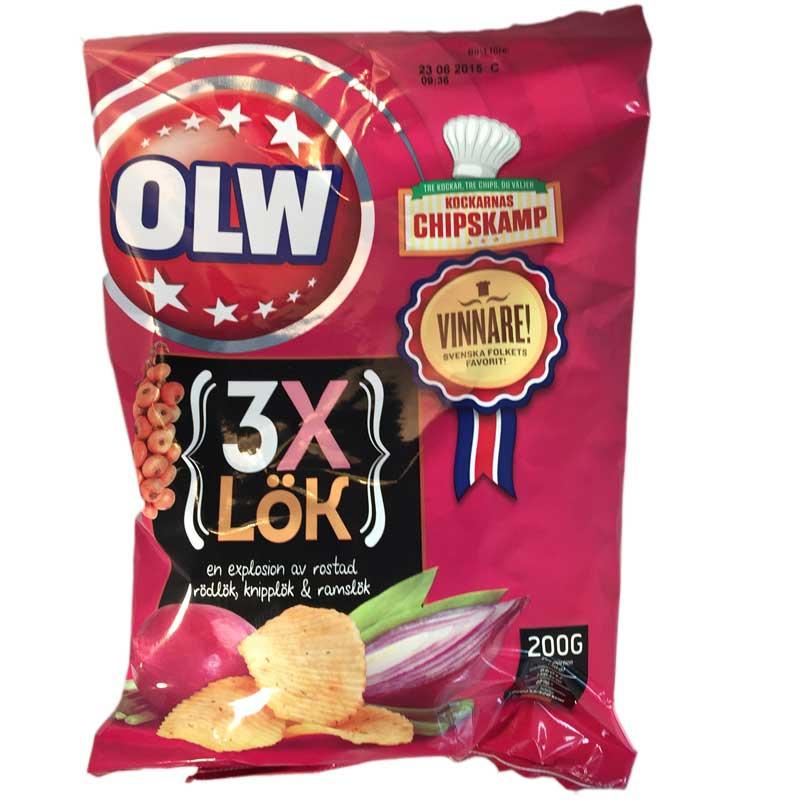 Chips 3xLök - 72% rabatt
