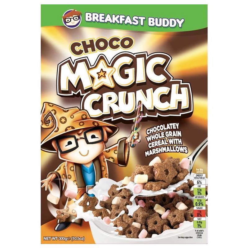"Frukostflingor ""Choco Magic Crunch"" 300g - 64% rabatt"