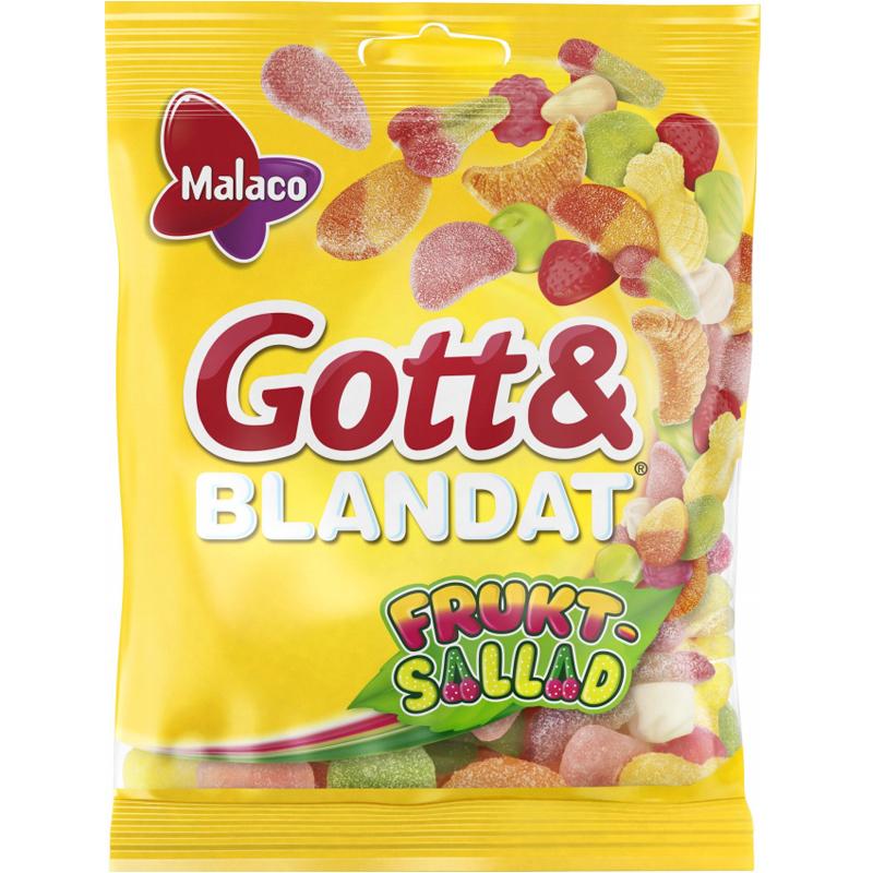 """Gott & Blandat """"Fruktsallad"""" 130g - 37% rabatt"""