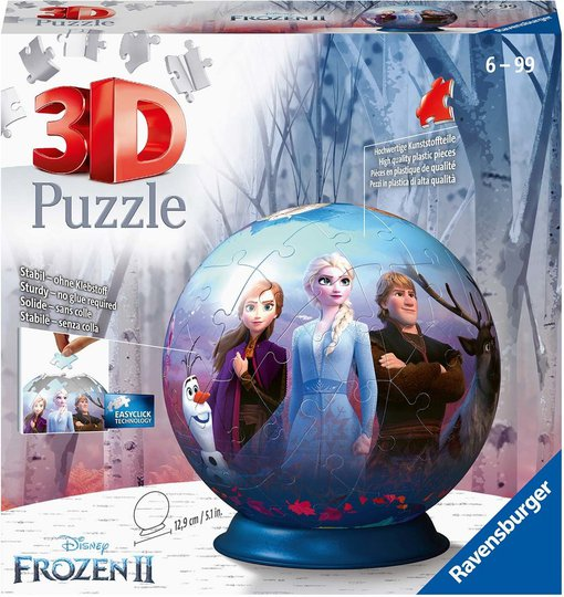 Ravensburger 3D-Puslespill Disney Frozen 2 72 Biter