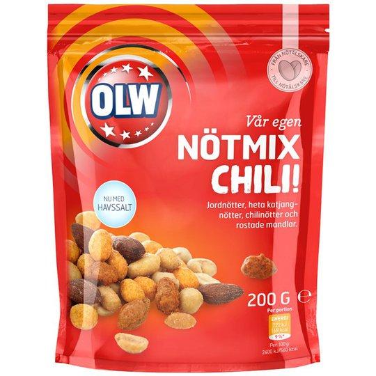 Nötmix Chili 200g - 30% rabatt