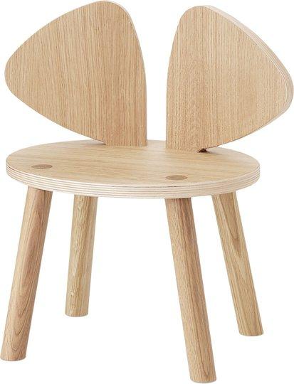 Nofred Mouse Stol, Oak