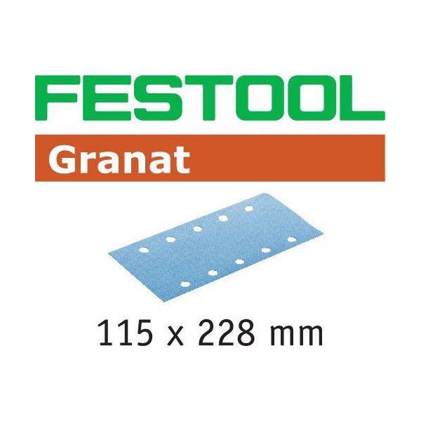 Festool STF GR Hiomapaperi 115x228mm 50 kpl. P60